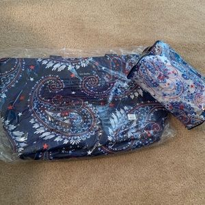 Vera Bradley beach tote and matching lotion bag